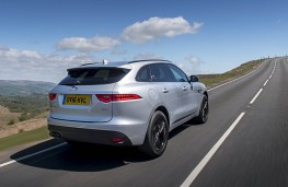 Jaguar F-Pace, rear action