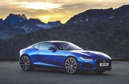 Jaguar F-Type Coupe 2020 front threequarters