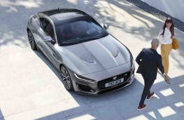 Jaguar F-Type Coupe 2020 overhead
