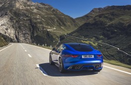 Jaguar F-Type Coupe 2020 rear action