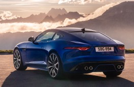 Jaguar F-Type Coupe 2020 rear threequarters
