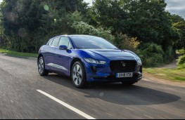 Jaguar I-PACE, front action 2