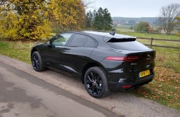 Jaguar I-Pace, rear static