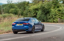 Jaguar XE, rear action 2