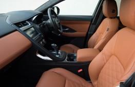 Jaguar E-PACE, front seats