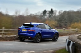 Jaguar E-PACE, rear action 2