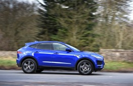 Jaguar E-PACE, side action