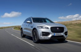 Jaguar F-Pace, front action