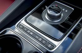 Jaguar F-Pace, gear selector