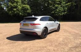 Jaguar F-Pace, rear