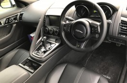 Jaguar F-Type R Convertible, interior