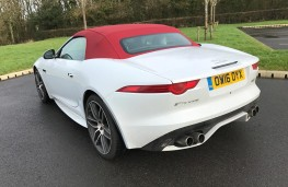 Jaguar F-Type R Convertible, rear