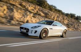 Jaguar F-Type, front