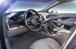 Jaguar I-Pace concept fascia