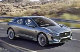Jaguar I-Pace concept front action
