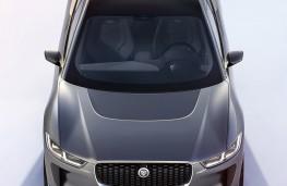 Jaguar I-Pace concept front overhead