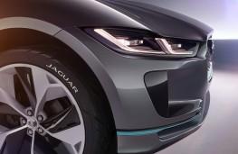 Jaguar I-Pace concept nose detail