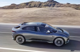 Jaguar I-Pace concept side action