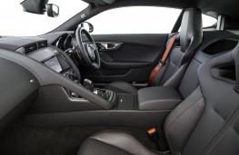 Jaguar F-Type, interior