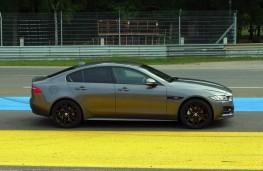 Jaguar XE R-Sport, side static