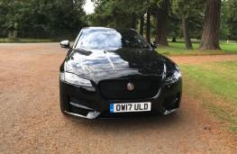 Jaguar XF R-Sport, front