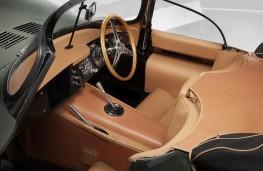 Jaguar XKSS cockpit