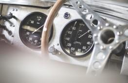 Jaguar XKSS dashboard