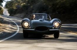 Jaguar XKSS front action