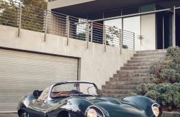 Jaguar XKSS front portrait