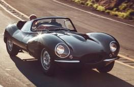 Jaguar XKSS overhead action