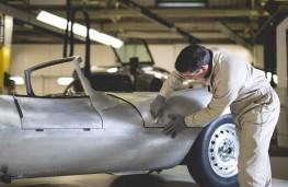 Jaguar XKSS production