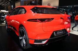 Jaguar i-PACE, rear, Geneva Motor Show 2017