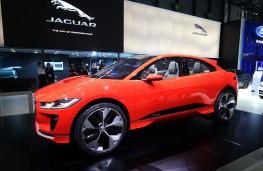 Jaguar i-PACE, side, Geneva Motor Show 2017