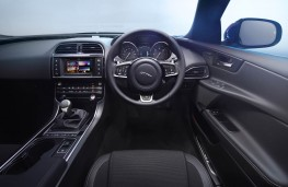 Jaguar XE, interior, manual gearbox