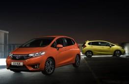 Honda Jazz, 2017, orange and yellow