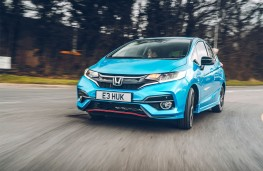 Honda Jazz, 2018, front, action