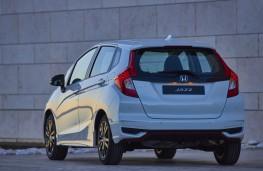 Honda Jazz, 2017, rear, static