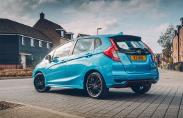 Honda Jazz, 2018, rear, static