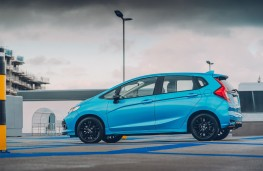 Honda Jazz, 2018, side, static