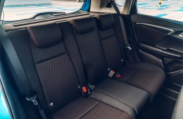 Honda Jazz, 2018, rear seats