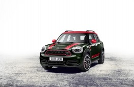 MINI Countryman John Cooper Works ALL4, 2017, front