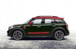 MINI Countryman John Cooper Works ALL4, 2017, side