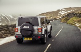 Jeep Wrangler, rear action