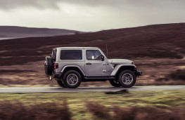 Jeep Wrangler, side action