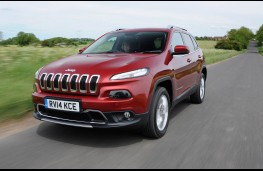 Jeep Cherokee, front action 2