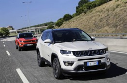 Jeep Compass, action duo