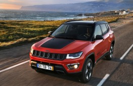 Jeep Compass, action front