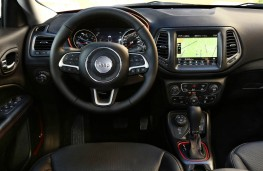 Jeep Compass, dashboard