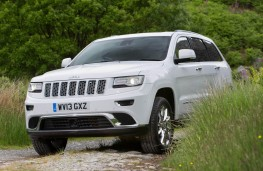 Jeep Grand Cherokee front action