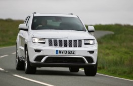 Jeep Grand Cherokee full front action